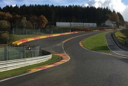 Circuit van Spa-Francorchamps in Provincie Luik
