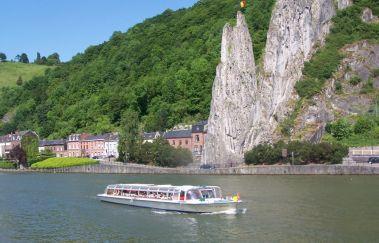 <p>Dinant Evasion : croisières sur Meuse</p>-Croisière tot Provincie Namen