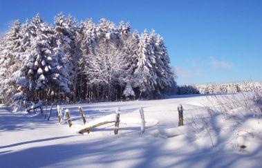 Skipiste van Neu Perlé-Ski de fond tot Provincie Luxemburg