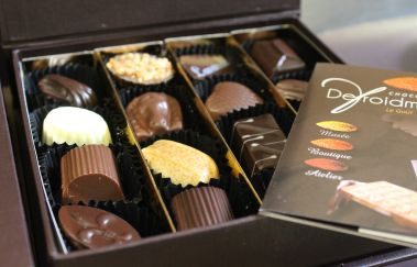 Chocoladefabriek Defroidmont-Musée tot Provincie Luxemburg