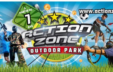 Actionzone Outdoor Park-Paint-ball tot Provincie Luik