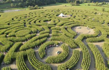 Labyrint-Centres récréatifs tot Provincie Luxemburg