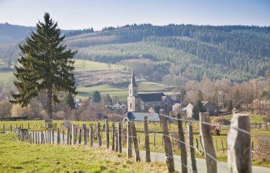 Grand-Halleux-Ville tot Provincie Luxemburg