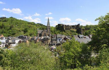 La Roche-en-Ardenne-Ville tot Provincie Luxemburg