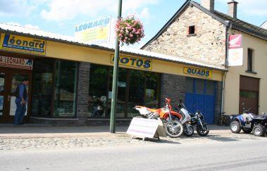 Léonard Vélos-Location VTT tot Provincie Luxemburg