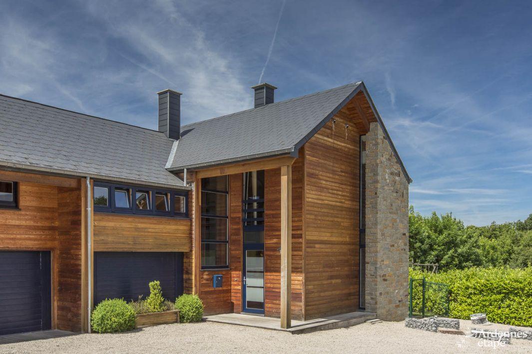 Luxe en comfort voor 9 personen in hedendaagse villa bomal for Vakantiehuis met jacuzzi