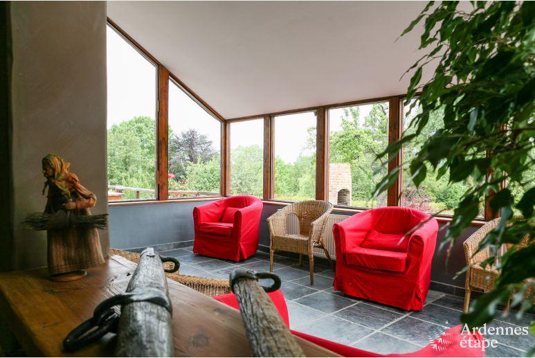 Dorpswoning voor 12 personen met jacuzzi en sauna in rez e for Huisje met sauna en jacuzzi 2 personen