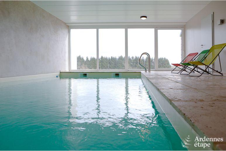 Binnenzwembad In De Buurt.Luxe Villa Houffalize Ardennen