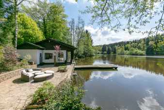 Chalet in Momignies voor 2 personen in een idylisch kader