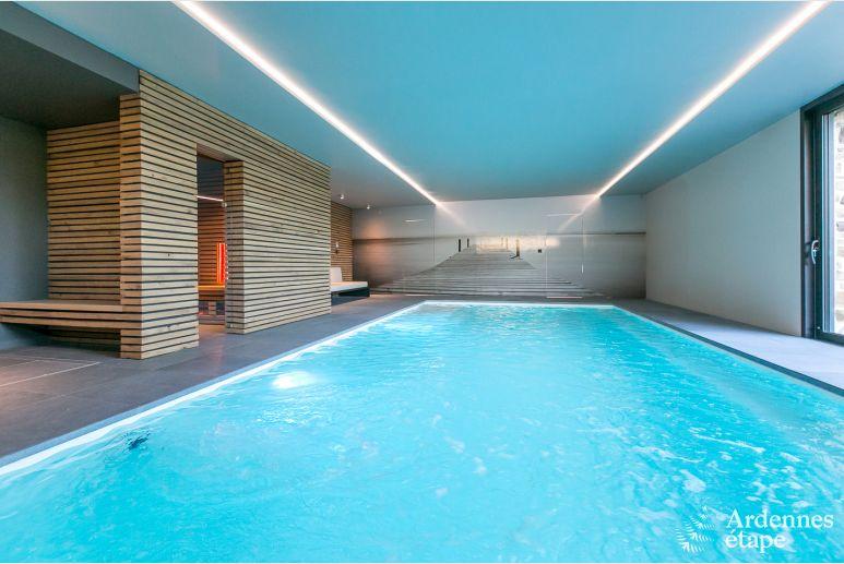 Zwembad In Huis : Luxueus sterren vakantiehuis met zwembad te huur in ohey