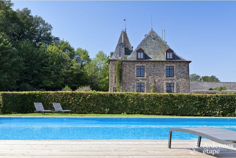 Kasteel Met Zwembad In De Tuin Te Huur Voor 15 Personen In Trois Ponts
