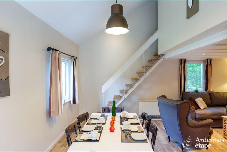 Comfortabel vakantiehuis met verzorgde decoratie in weismes