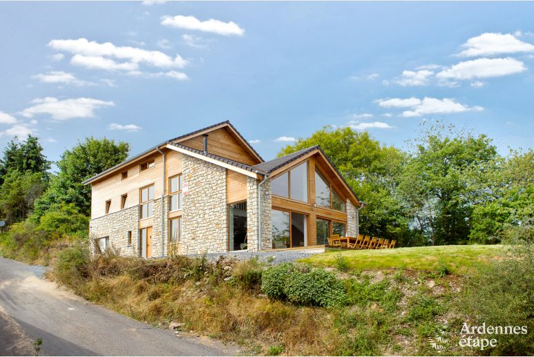 Authentiek luxechalet voor personen te huur in wiltz