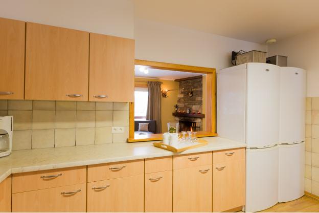 4 sterren chalet voor 26 personen met jacuzzi en sauna in xhoffraix - Keuken voor chalet ...